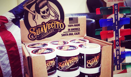 Suavecito Display Case